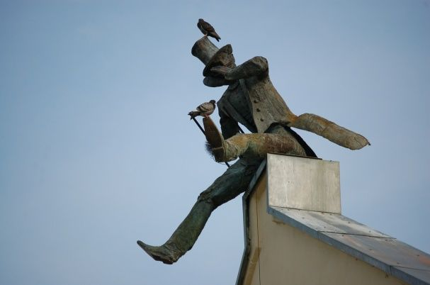 Sculpture Quot Kaminkrėtys Quot Quot The Old Town Chimney Sweep