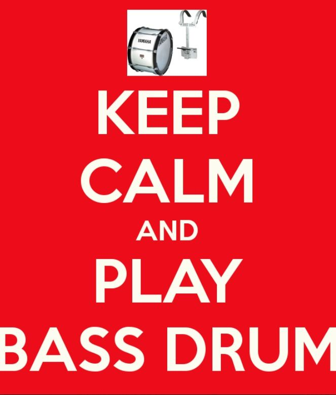 Play that bass drum