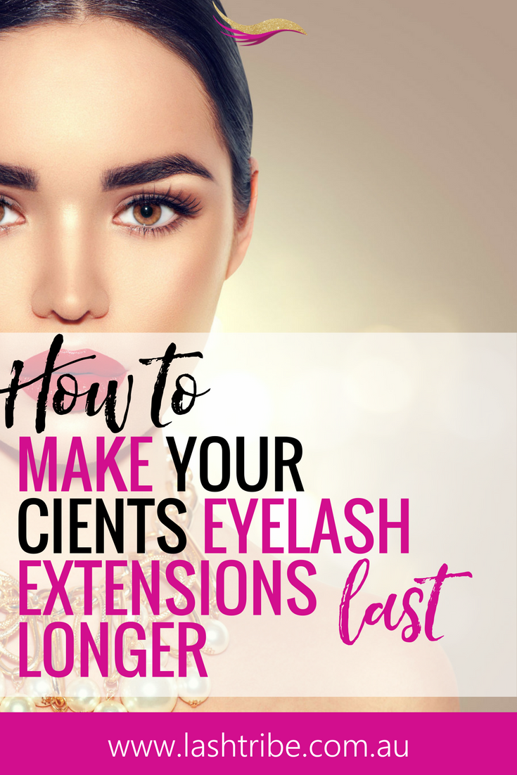 How To Make Eyelash Extensions Last Longer Extensions Beauty Bar