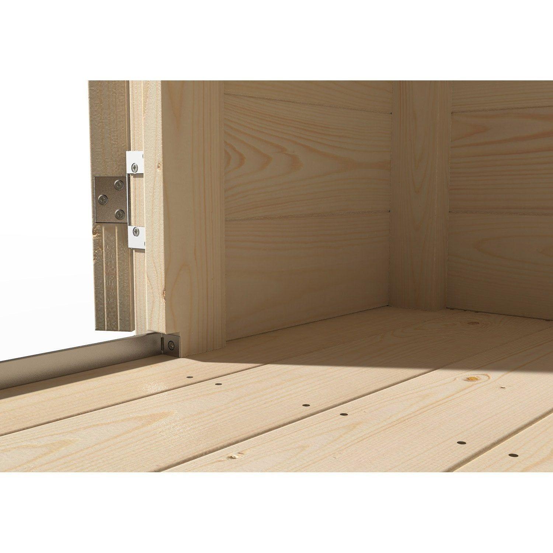 Plancher En Bois Naterial Pour Abri 9m² Contemp L297 X H