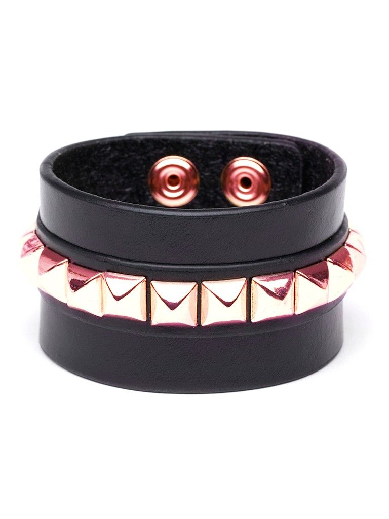 We dubbed this edgy streetchic cuff the clash for two reasons most