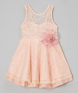 Pink & Purple Flower Swing Dress - Toddler & Girls by Blossom Couture #zulily #zulilyfinds