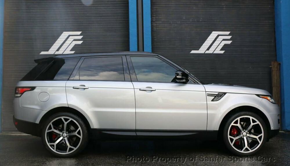 2015 Land Rover Range Rover Sport 4wd 4dr Supercharged