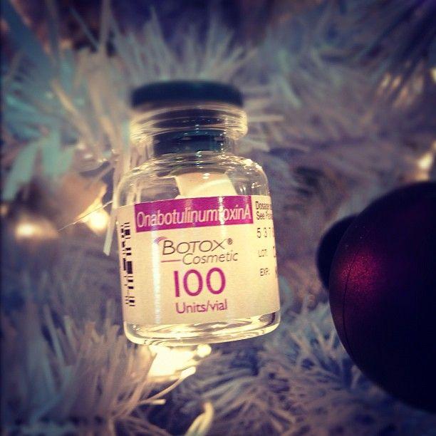 Medical Christmas Tree: Botox Christmas Tree Lights!!!