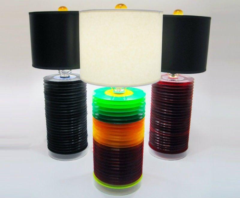 Schallplatten-Lampe Zum Selber Bauen