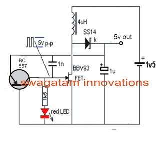 The Post Explains A Very Simple Charging A Cell Phone From A 1 5v Battery Utilizing Merely A 1 5v As Circuit Projects Electrical Projects Electronics Projects
