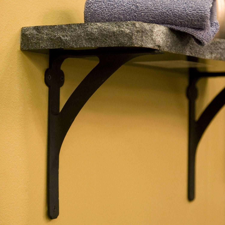 Classic Iron Shelf Bracket | Iron shelf, Shelf brackets and Shelves