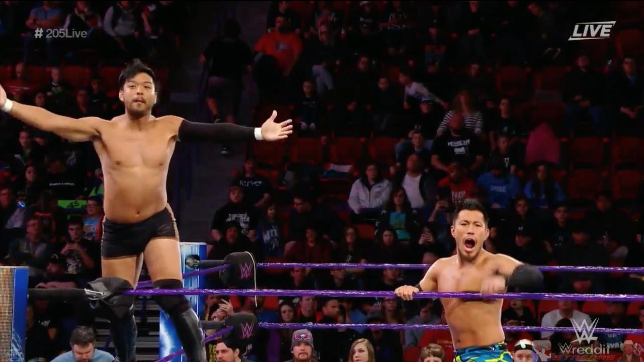 Hideo Itami And Akira Tozawa Wrestling Akira Hideo