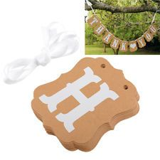 New Lovely Photo Thank You Garlands DIY Props Wedding Party Decorations Sign