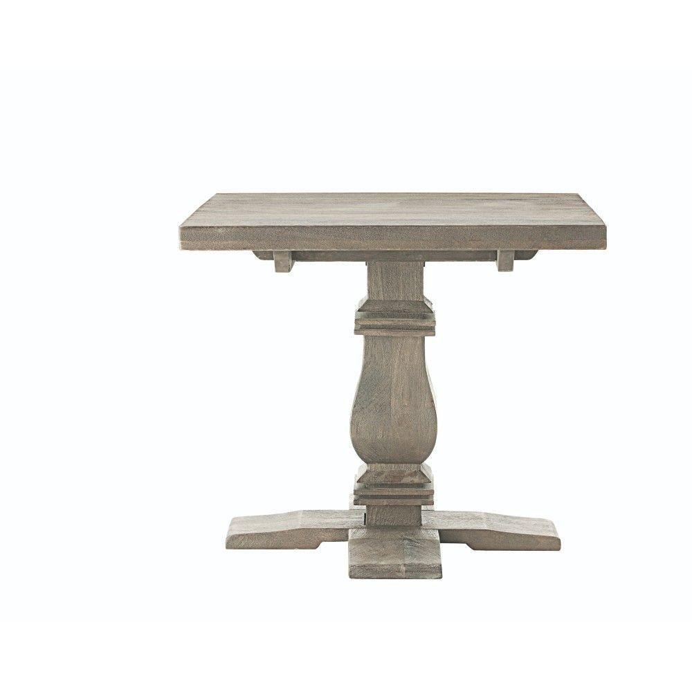Home decorators collection aldridge antique grey end table