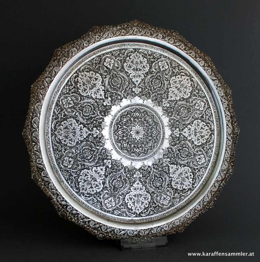 Persian silver by Parvaresh ( 1910 - 1977 )