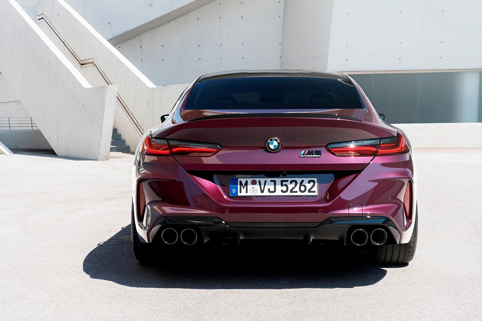 Rear View In 2020 Bmw Gran Coupe Bmw Dealer