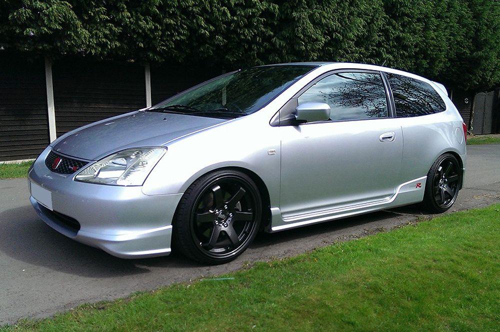 Honda Civic EP3 with 18