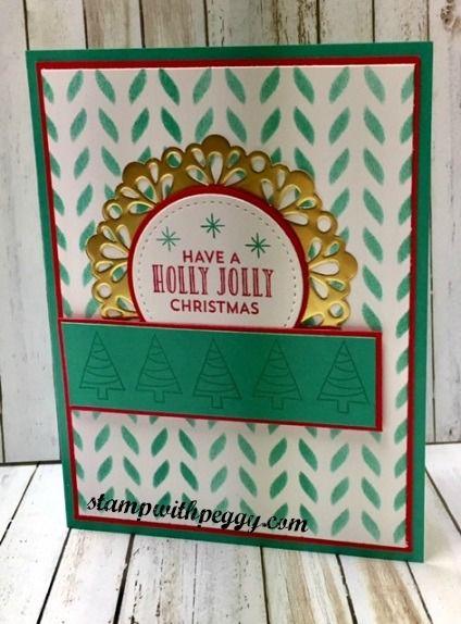 Stampin Up Seasonal Decorative Masks Cool Stitched With Cheer Stamp Set Seasonal Decorative Mask Metallic Decorating Design