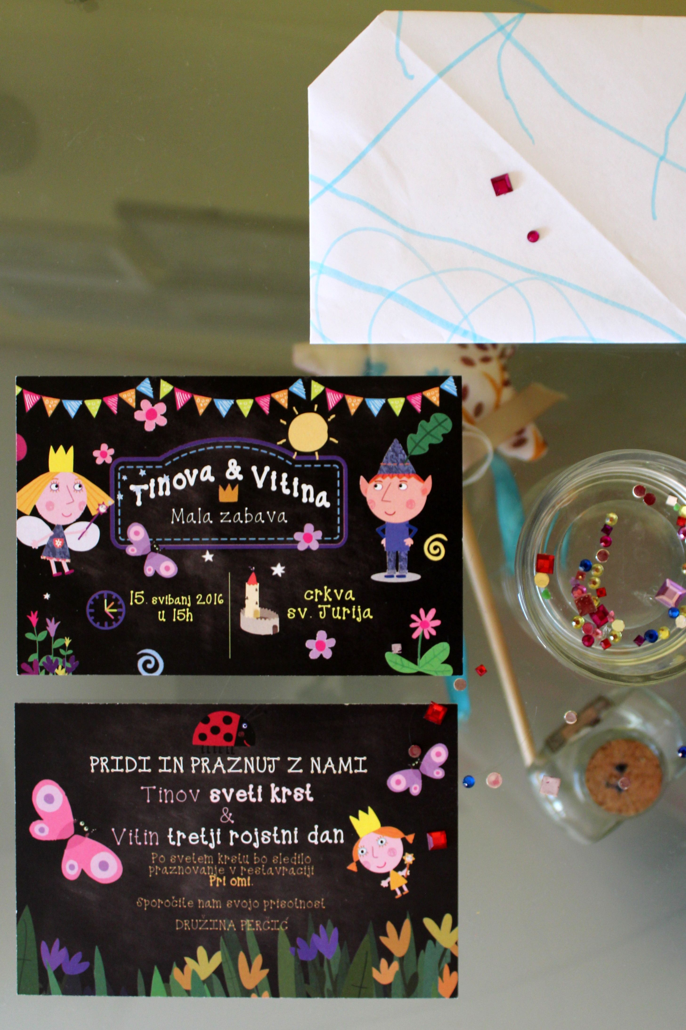 ben and holly\'s little kingdom party invitations | Ben and Holly ...
