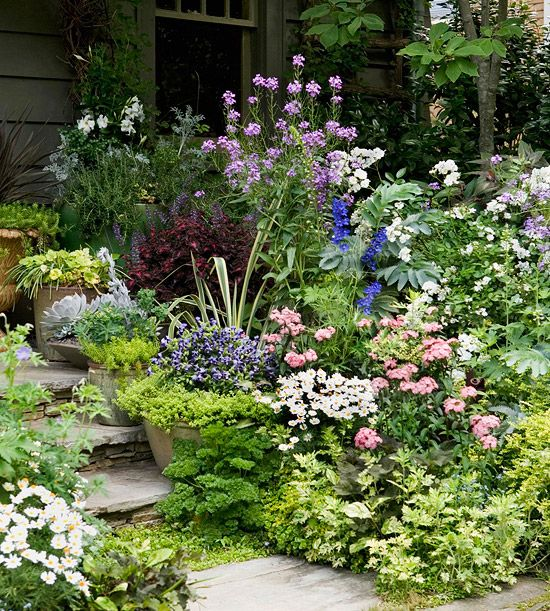 57 Amazing Beautiful Garden Ideas Inspiration And: Exquisite Purple And White Flower Combinations