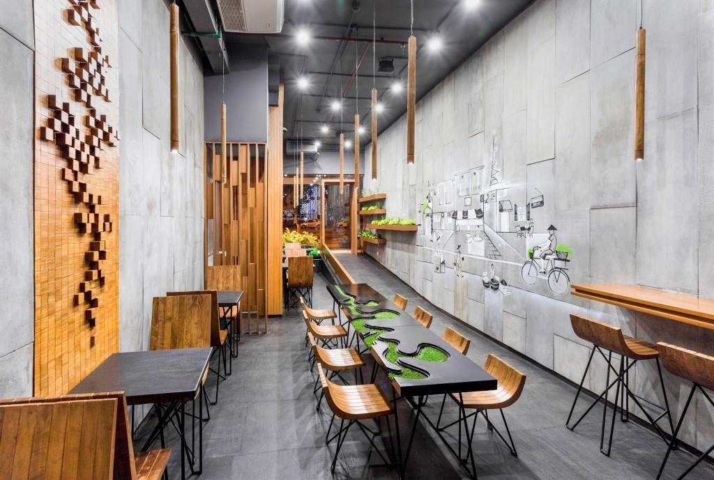 Aja Restaurant Interior Design Chandigarh Arch Lab The Architects Diary Restaurant Interior Restaurant Interior Design Bar Design Restaurant