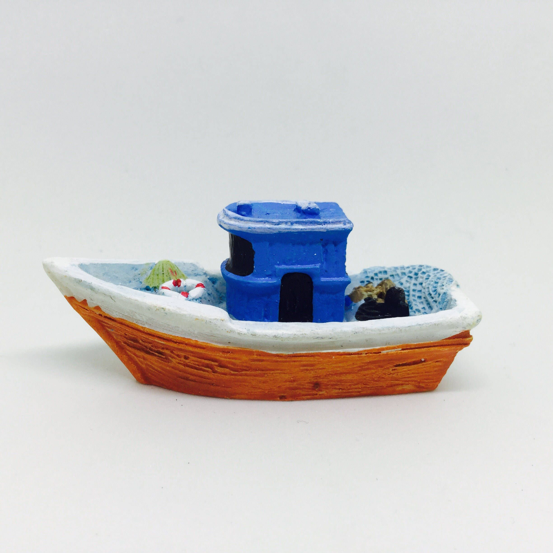 Favori Moule silicone bateau navire de pêche marin pour Pâte Polymère  OV35