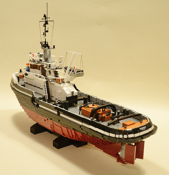 how to build a lego boat instructions