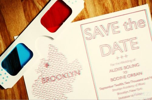3d save the dates.