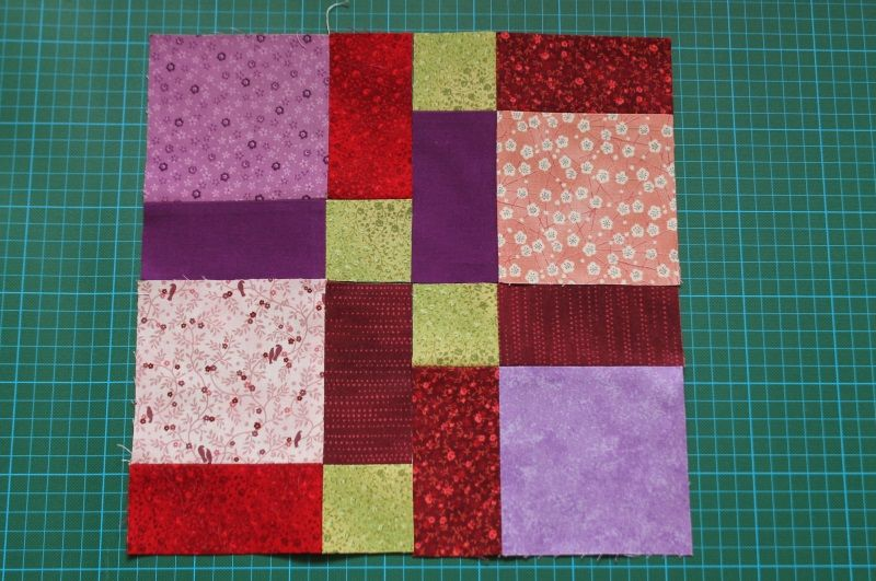 Ein Neues Muster Muss Her Disappearing 9 Patch Quadrate Mal Patchworkmuster Quilt Muster