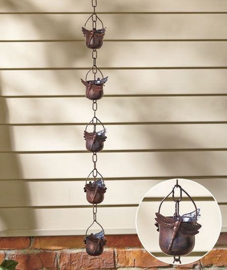 Decorative Butterfly Iron Rain Chain