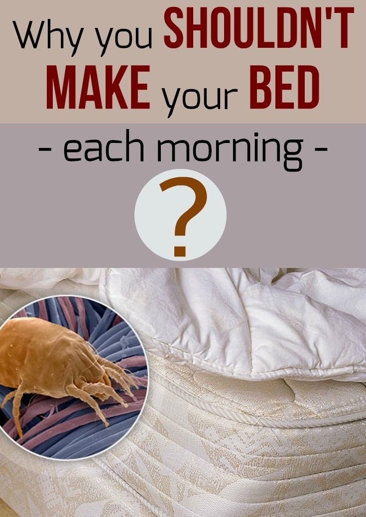 Each Morning We Are Born Again What We Do Today Is What: Why You Shouldn't Make Your Bed Each Morning
