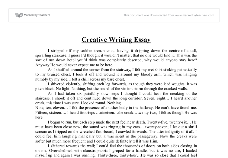 Essay help writing creative
