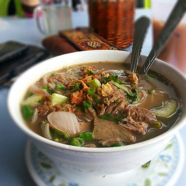 Bihun Sup Daging Malaysian Food Food Asian Recipes