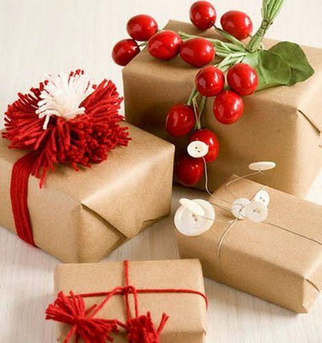 Клюква, калина, брусника и другие красные ягоды - для новогоднего украшения: 70 чудесных идей