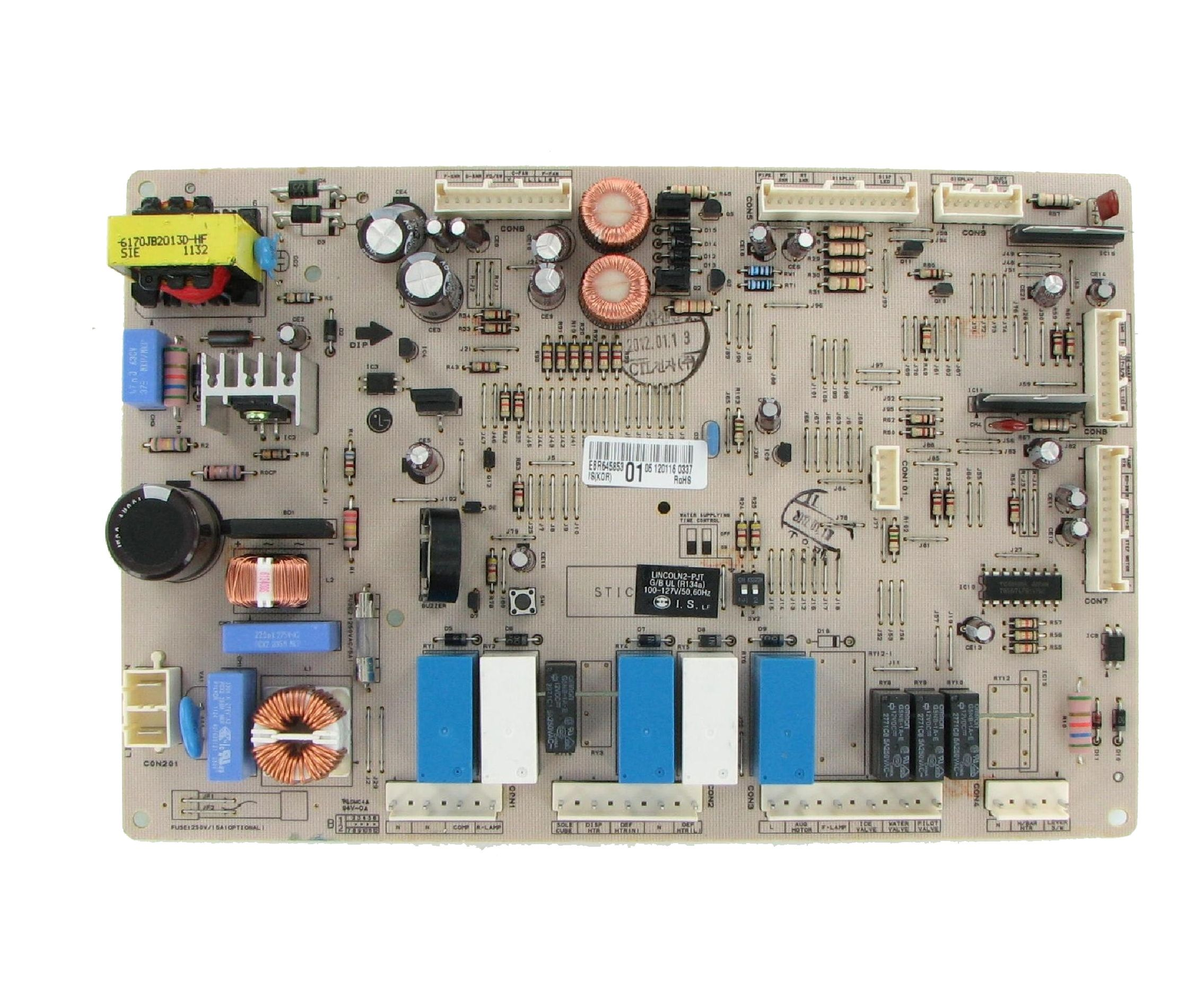 Lg refrigeration control board repair service jbl