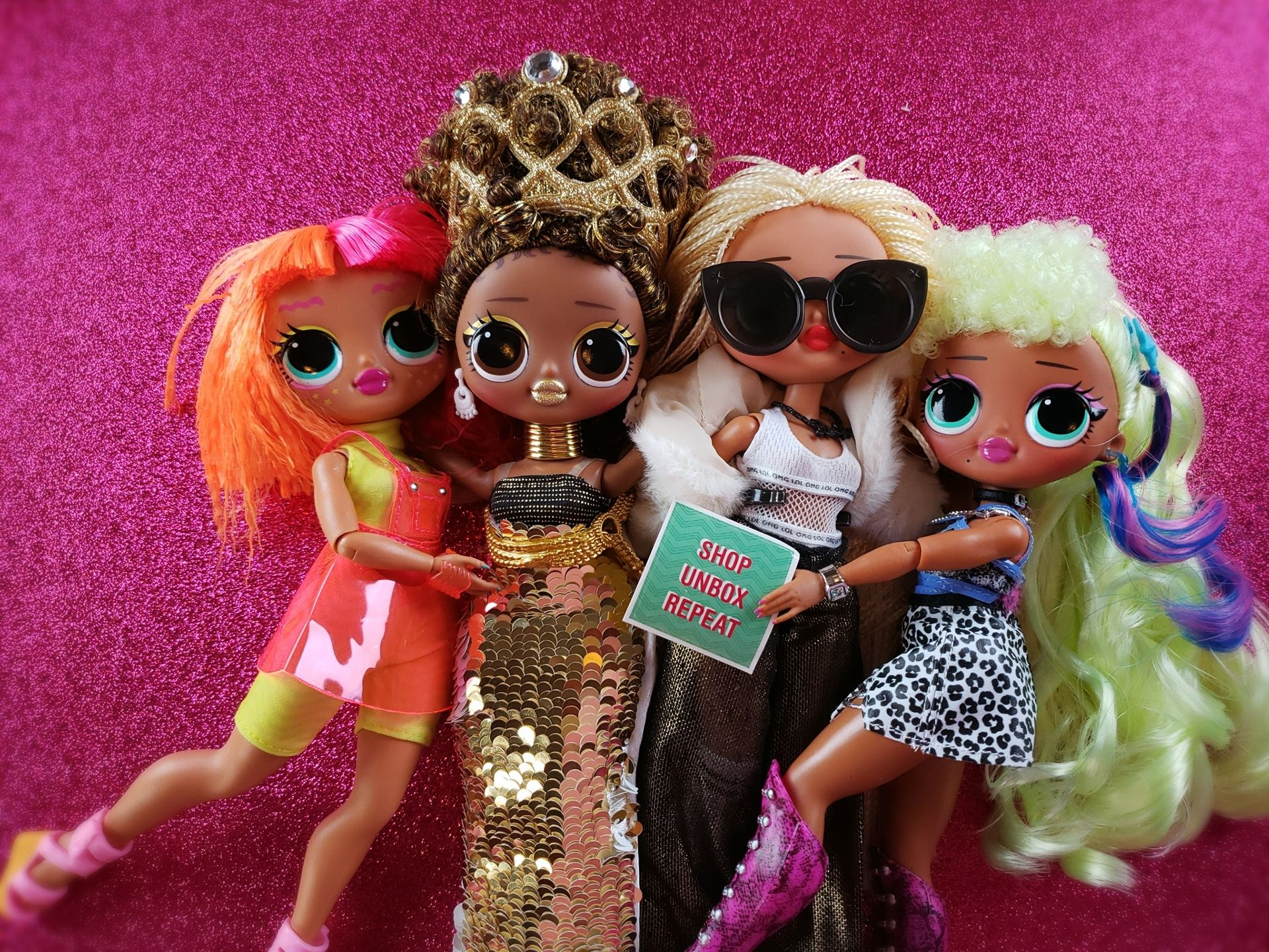 I Love My Lol Surprise Omg Fashion Dolls I Did Makeovers To