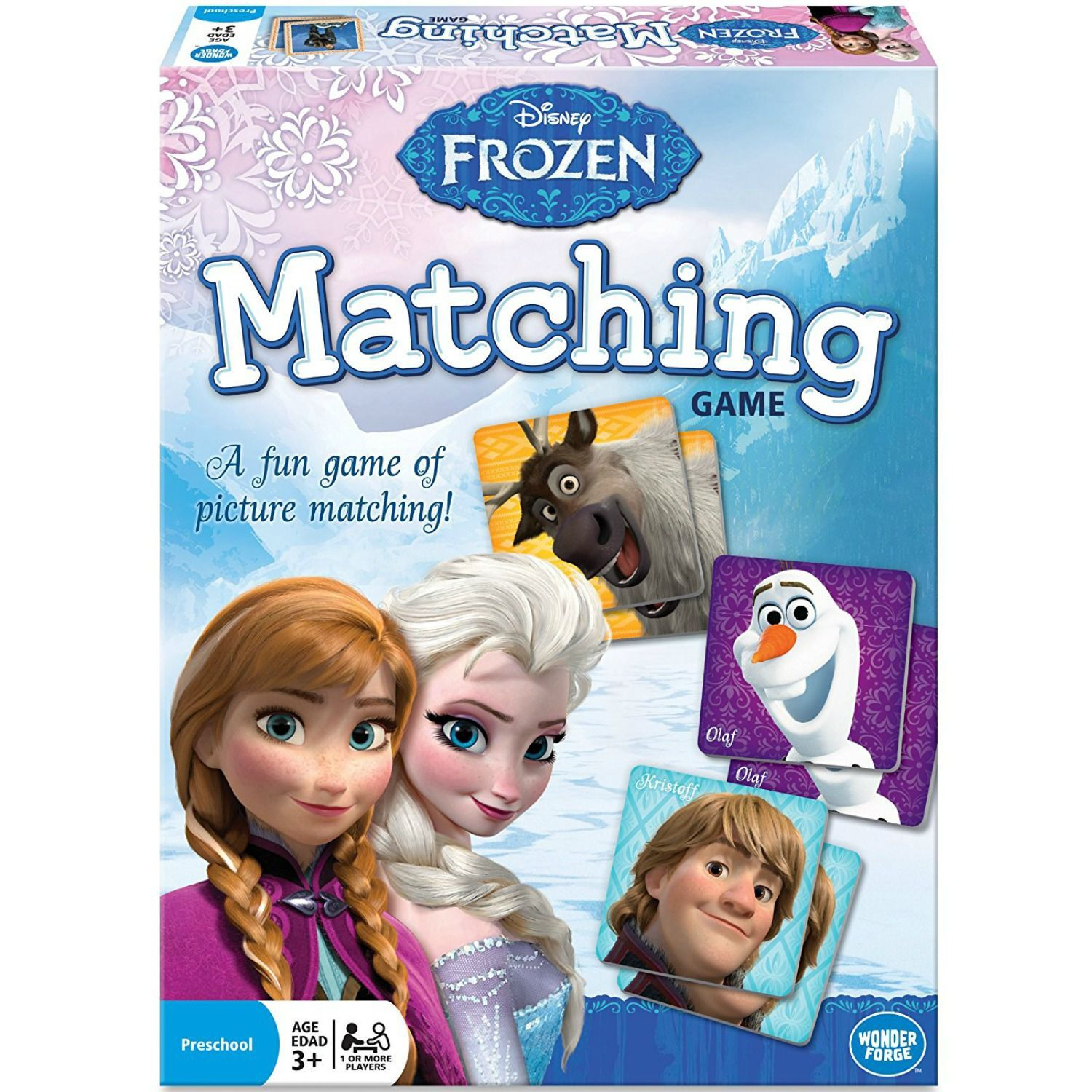 Frozen 2 Is Coming 15 Toys That Every Elsa Obsessed Kid Wants Disney Frozen Winter Toy Matching Games
