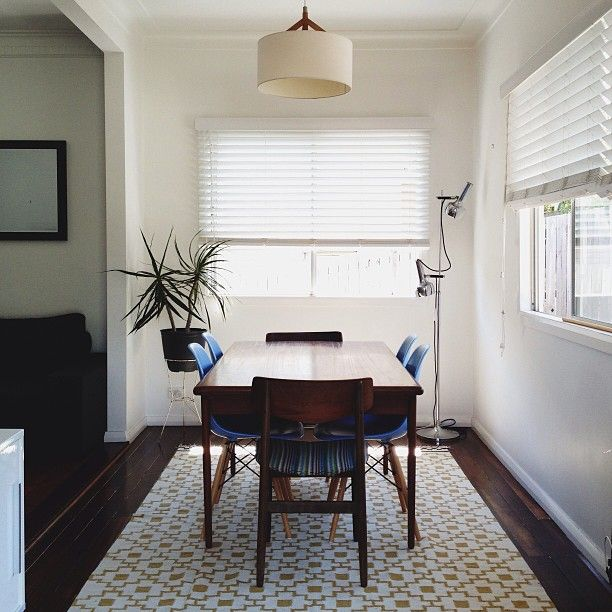 Clean + Modern Dining Room