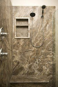 Low Maintenance Shower Wall Alternative On Time Baths Kitchens