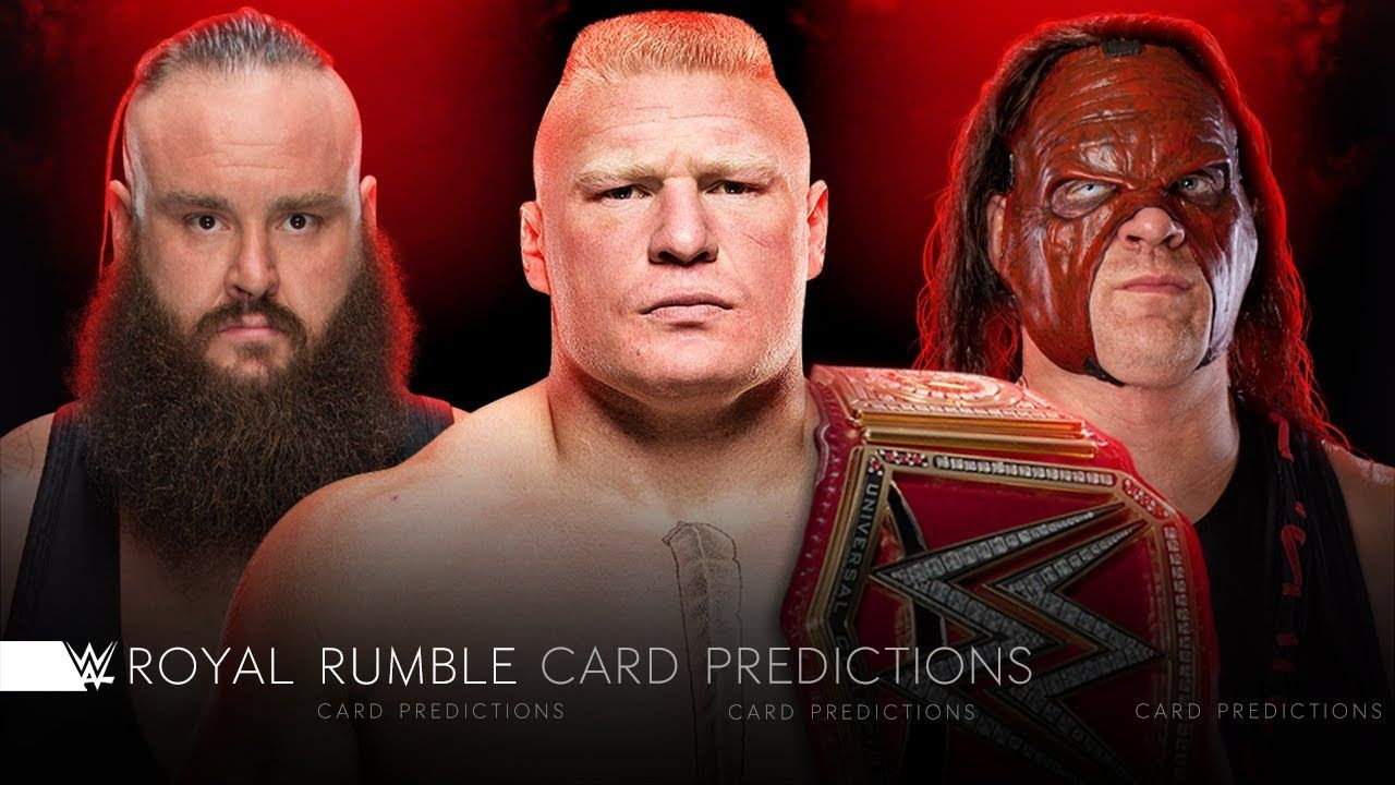 Vidios De Lucha Libre Cool Wwe Royal Rumble 2018 Card Predictions Video Wwe