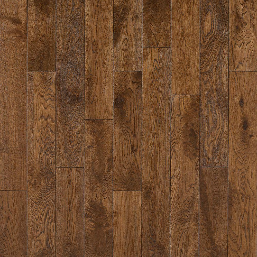 Nuvelle french oak cognac 5 8 in thick x 4 3 4 in wide x for Click hardwood flooring