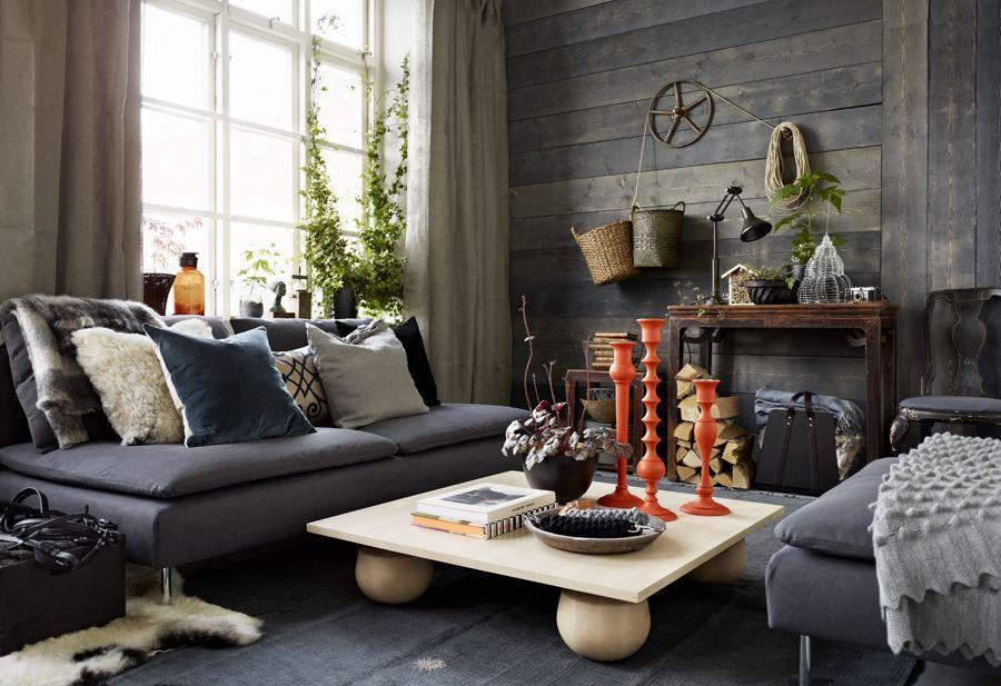 Country Life Rustik Lounge Inspiration Hem Ikea