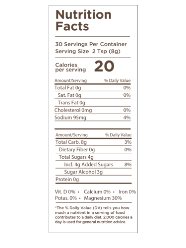 Mitosweet 8 5 Oz Sweeteners Collagen Protein Bars Vanilla Bean Powder