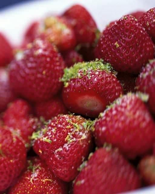 Strawberries with Lime