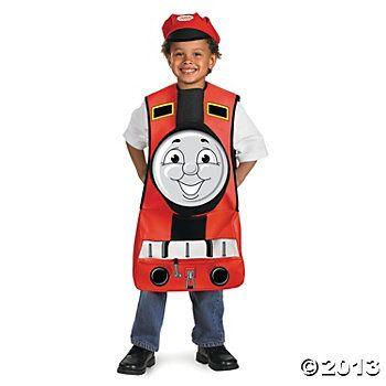 Thomas The Tank James Costume, $28 at Oriental Trading