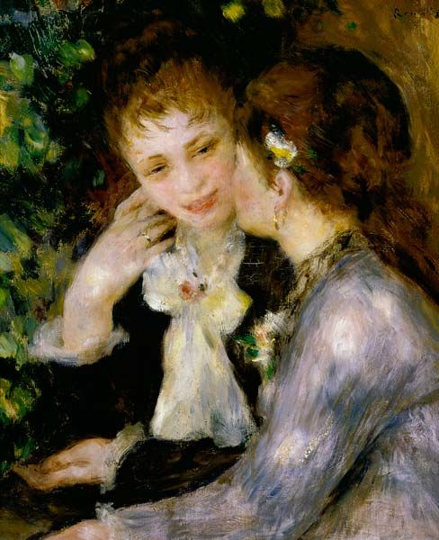 The sleeping by Pierre-Auguste Renoir Giclee Fine ArtPrint Repro on Canvas