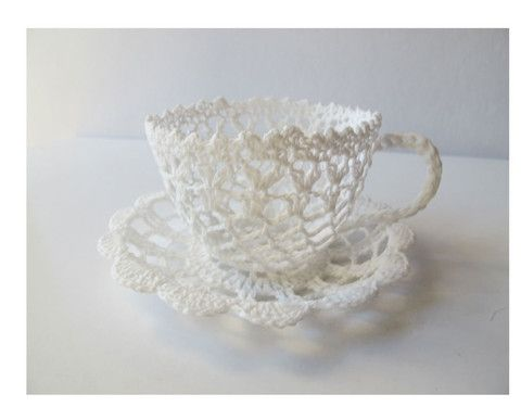 White Lace teacup