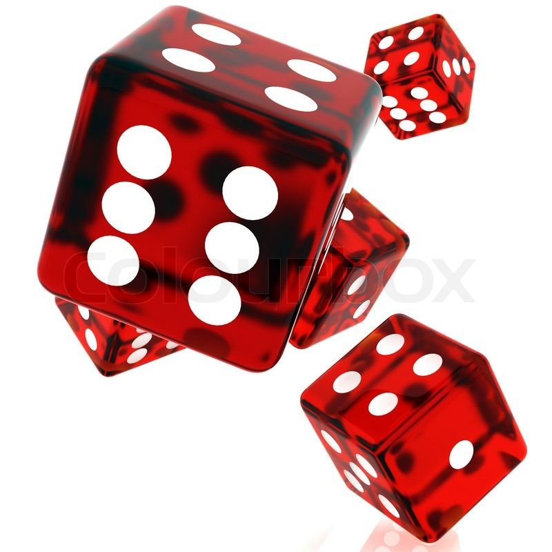 Stock Image Of 3d Red Rolling Dice On White Background Rolling Dice Gambling Casino