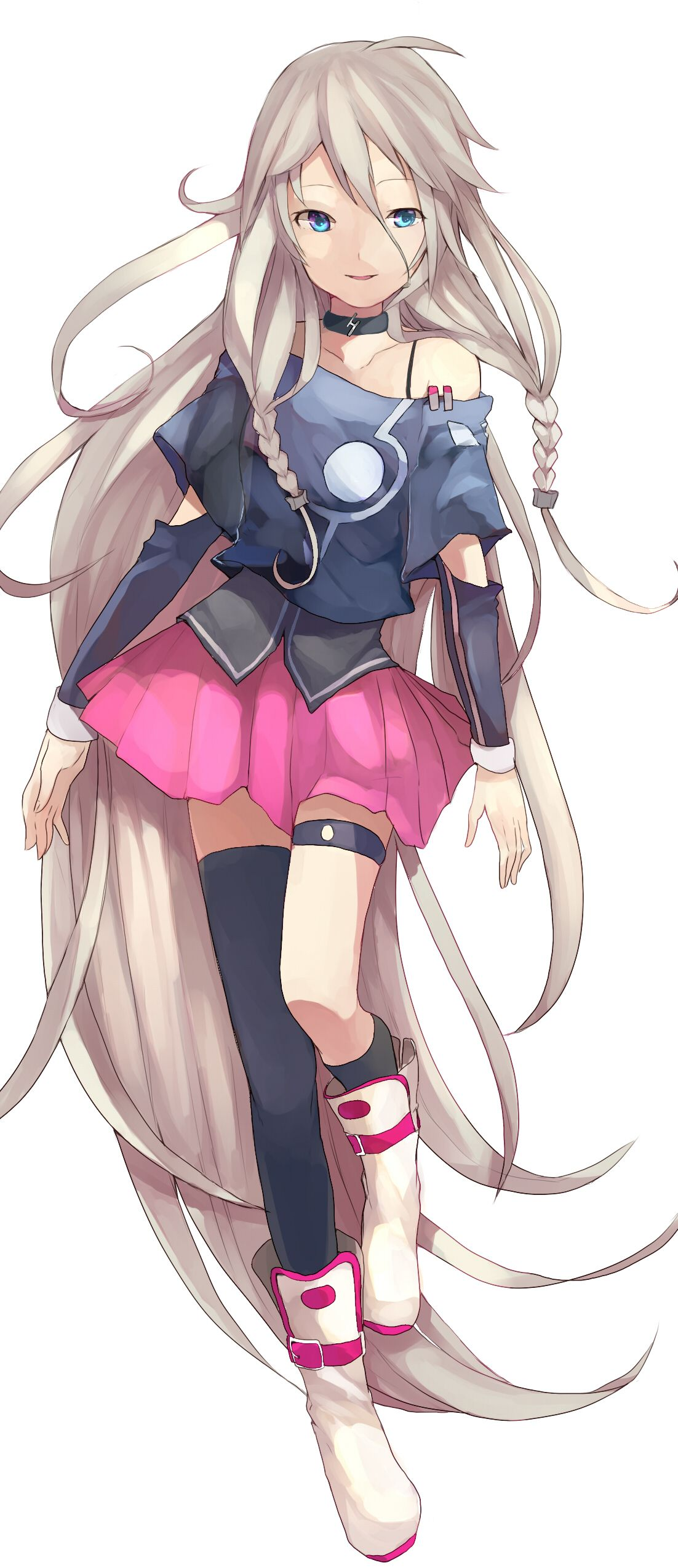 IA, she is the most popular Vocaloid3. Her voice provider