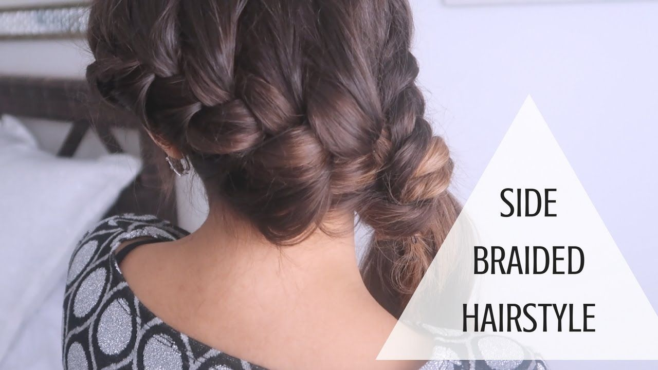 Side Dutch Braid With Hair Extensions Howto Tutorial With Braids