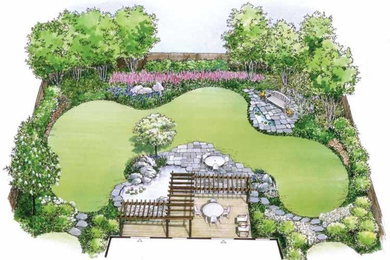 House Plan 0 Beds 0 Baths 0 Sq Ft Plan 1040 54 In 2020 Garden Design Plans Landscape Design Plans Garden Design Layout