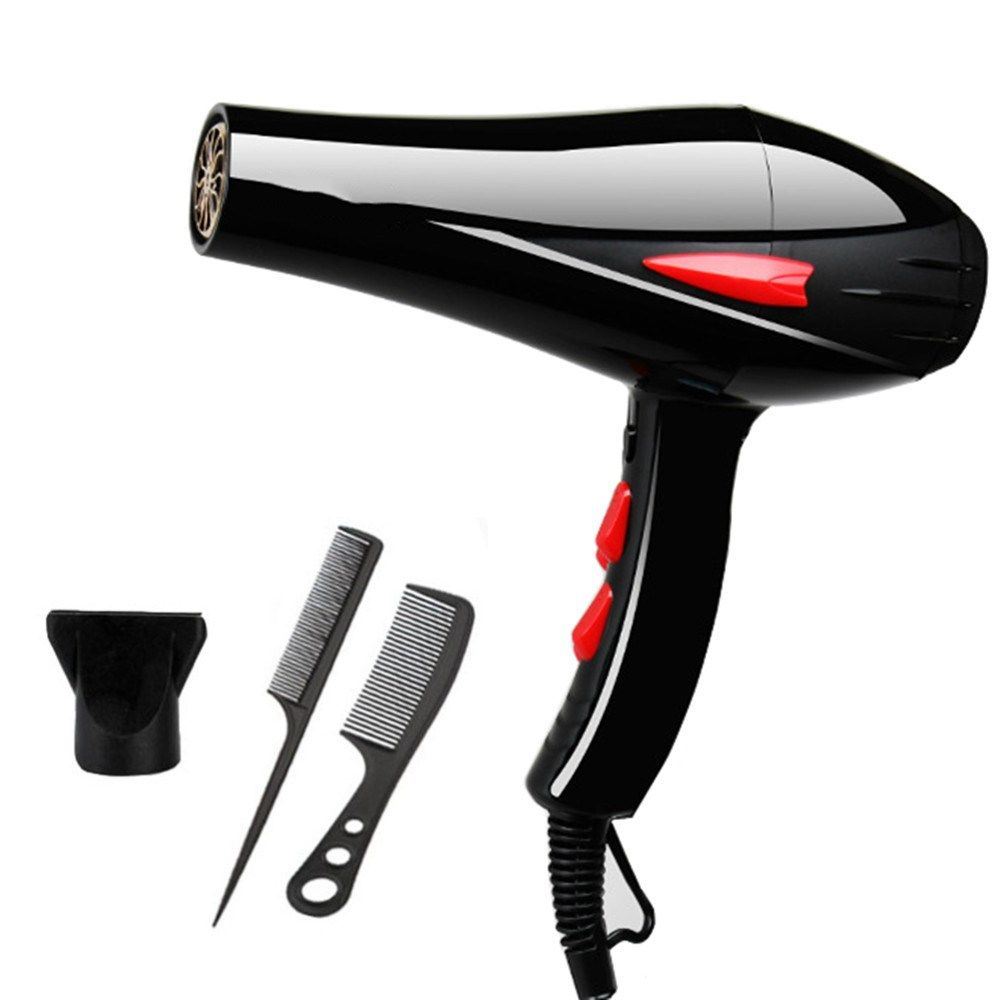 Rebune 3000w Blue Light Anion Hair Dryer Fast Styling Blow Dryer Ac Motor Salon Home Use With Fragrance 220v Hair Drier Dry Hair Fast Hair Dryer