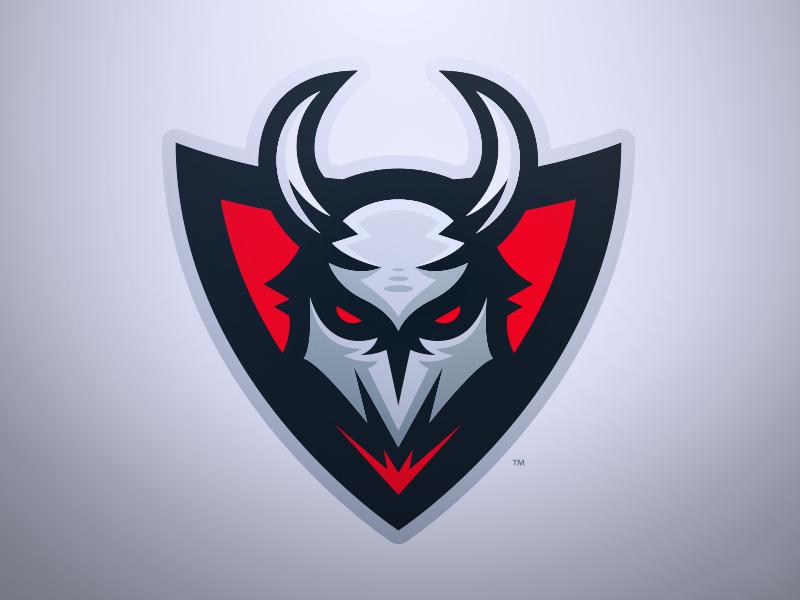 Mayhem Demonic Mascot Logo Logos