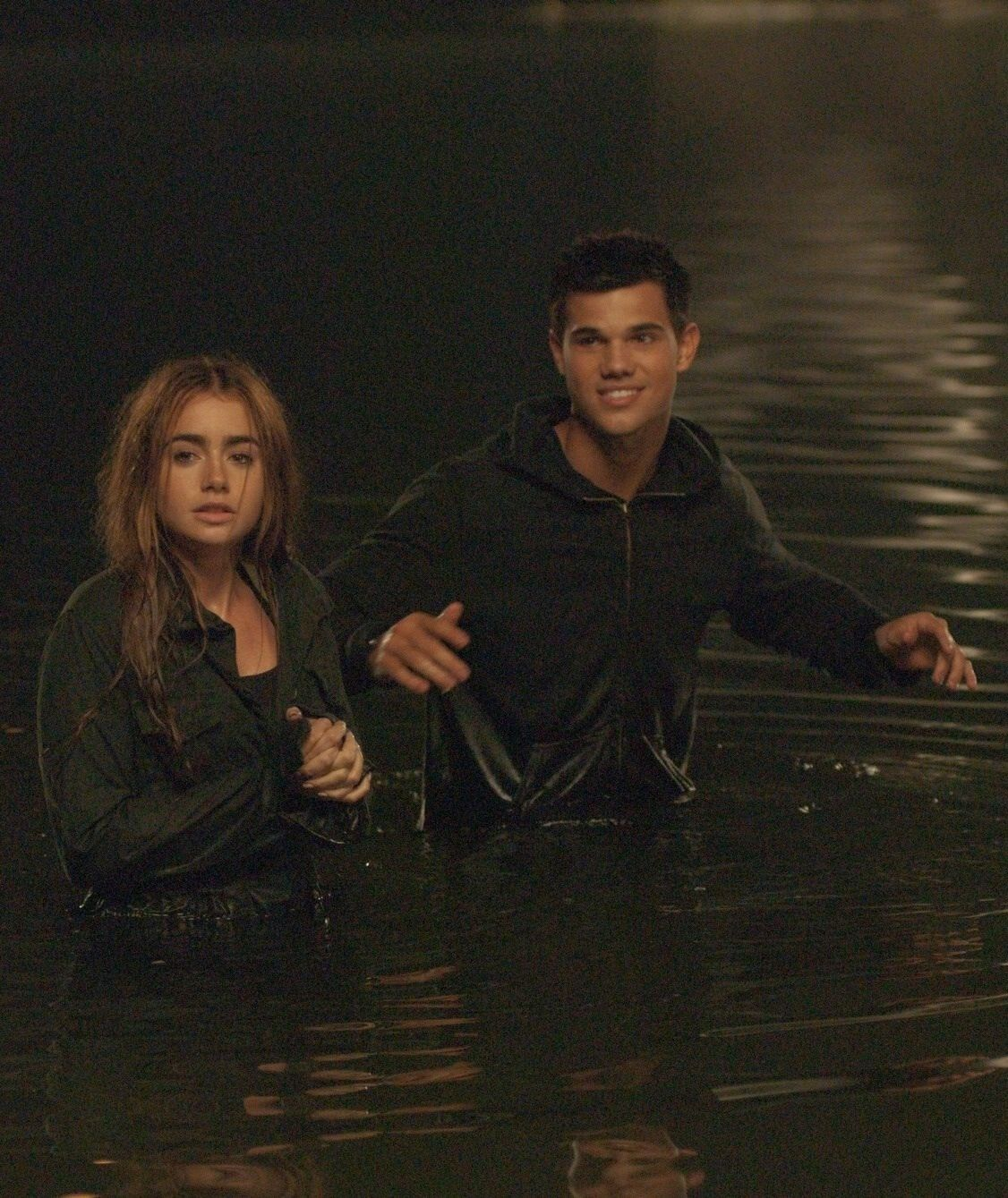 Taylor Lautner And Lily Collins Abduction